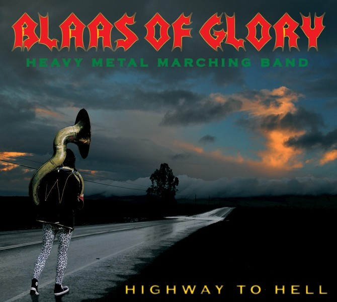 Blaas of Glory Highway to Hell album cover