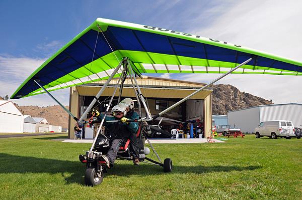 Chelan Ultralight Trike Aircraft Flights Over Lake Chelan