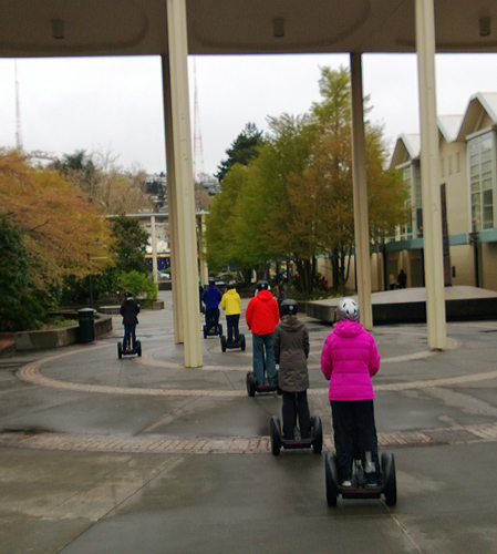 Seattle by Segway tour Seattle Center
