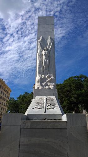 The Alamo Cenotaph Alamo Monument Spirit Of Sacrifice San