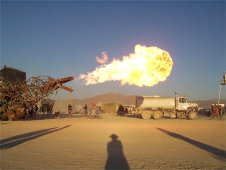 Dragon Breath At Burning Man