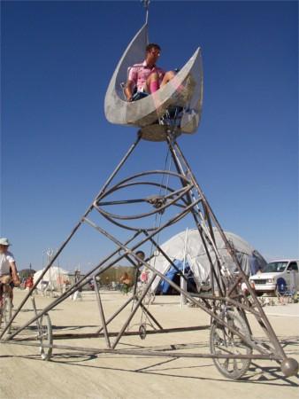 Moon Trike At Burning Man