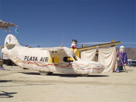 Playa Air At Burning Man