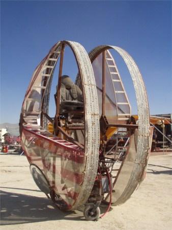 Yo-Yomobile At Burning Man