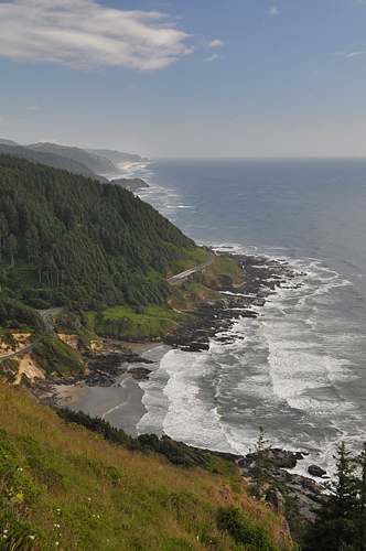 Cape Perpetua Scenic Area Oregon Coast Scenic Viewpoint