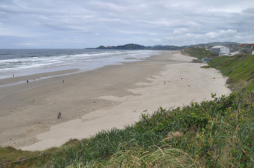 Newport Oregon Wide Open Pacific Ocean