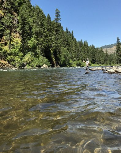 Grande Ronde River fly fishing Oregon canyon