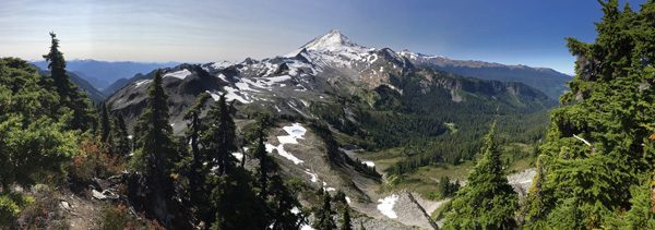 Table Mountain Trail Mt Baker Snoqualmie National Forest Mt Baker panorama