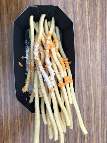Best tasting delicious french fries at Ueno Park Tokyo Japan