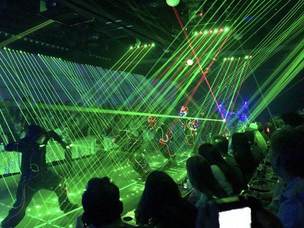 Robot Restaurant Shinjuku Tokyo Japan dancers and lasers