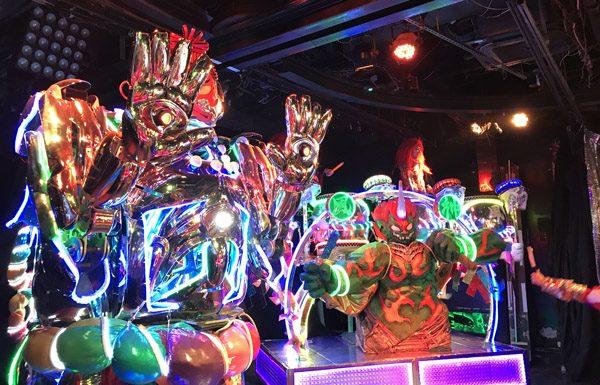 Robot Restaurant robots drummer Shinjuku Tokyo Japan