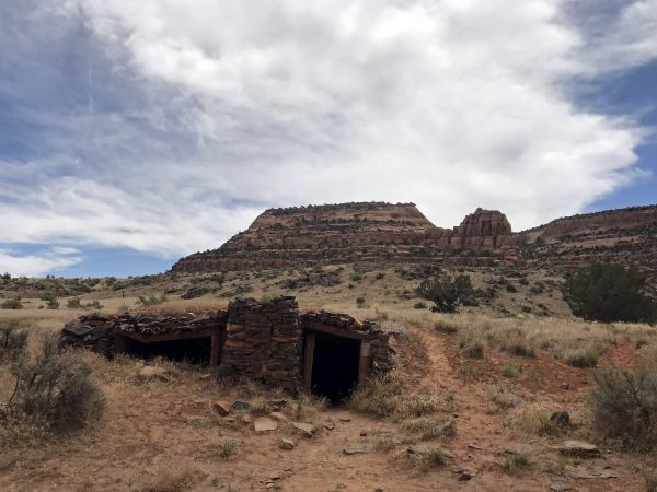 Miners Cabin in Westwater Canyon on Colorado River Utah