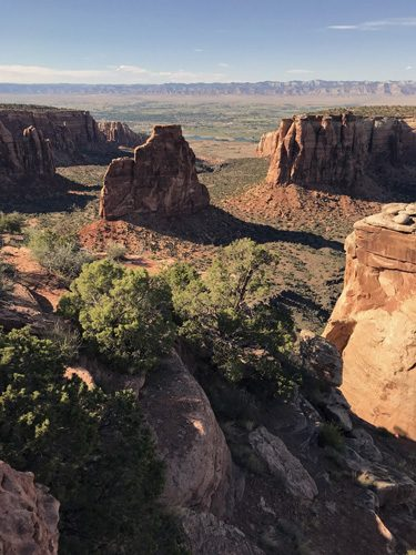 The Grand View Colorado National Monument left