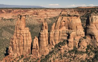 The Grand View Colorado National Monument right