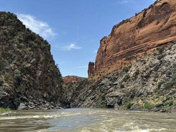 Westwater Canyon on Colorado River Utah