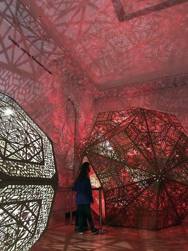 Burning Man art exhibit at Smithsonian Renwick Gallery in Washington DC
