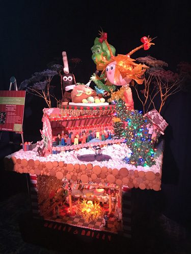 Seattle Sheraton Gingerbread house holiday competition entry 4
