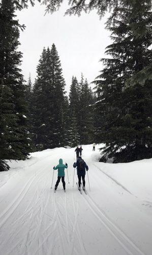 Stevens Pass Nordic Center cross-country ski trails