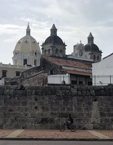 Cartagena Colombia Las Murallas Ciudad Amurallada Walled City