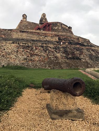 Castillo San Felipe De Barajas in Cartagena Colombia
