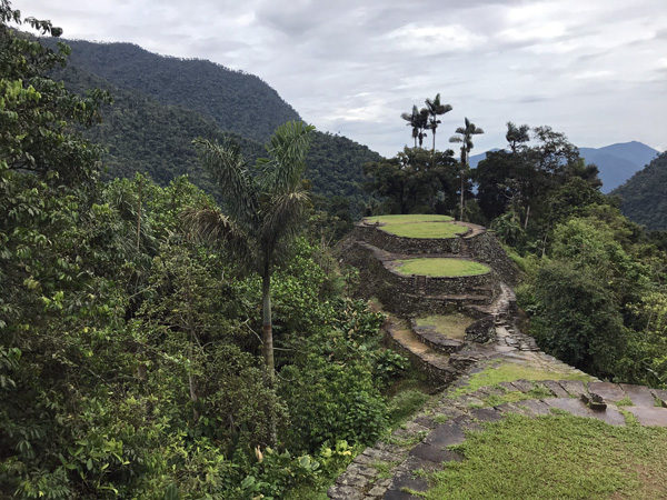 The Lost City Ciudad Perdida of Colombia