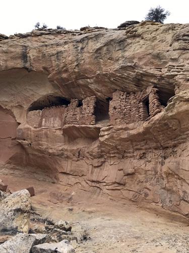 Butler Wash Anasazi ruins Blanding Utah