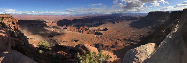 Canyonlands National Park Grand View Point panorama