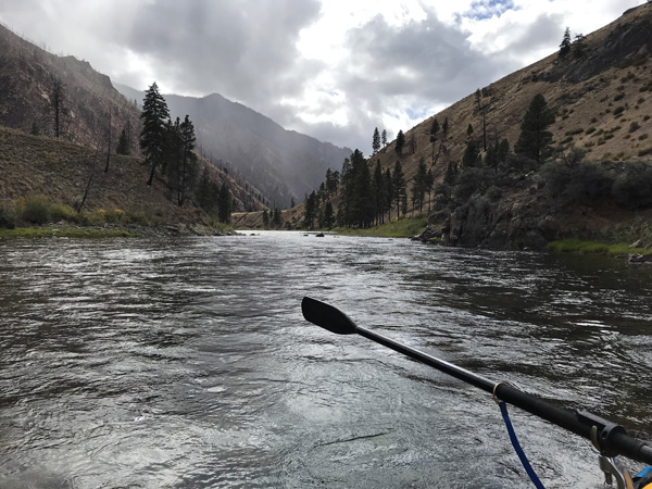 Rafting on Middle Fork of Salmon River in Idaho