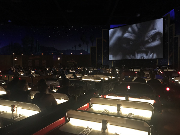 Walt Disney World Sci-Fi Drive-In Theater Restaurant in Hollywood Studios