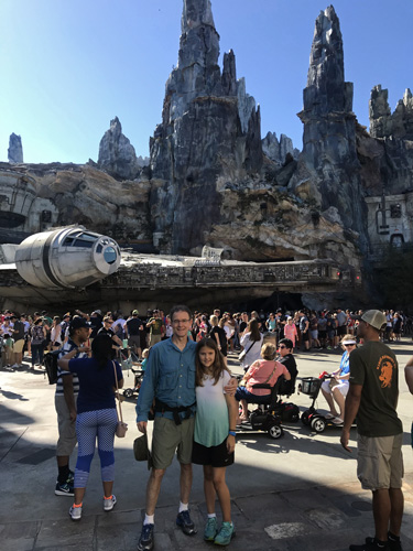 Walt Disney World Millennium Falcon at Star Wars Galaxys Edge in Hollywood Studios park